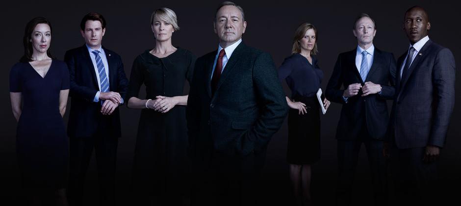 House of cards: il cast della quarta stagione