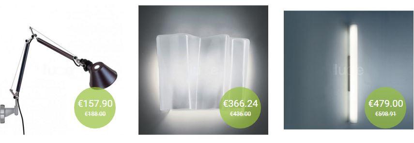 La lampada da parete e la giusta illuminazione in casa